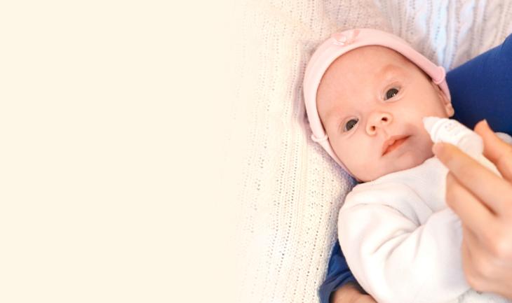 Лечим насморк у ребена